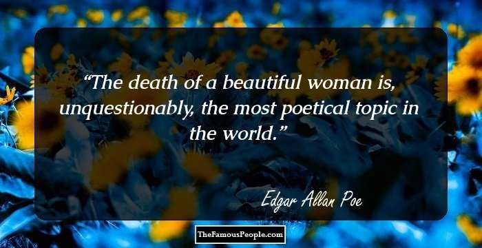 Awesome Edgar Allan Quotations