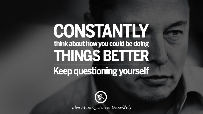 Awesome Elon Musk Quotations