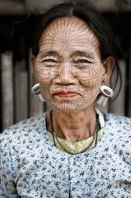 Awesome Face Tattoo Designs