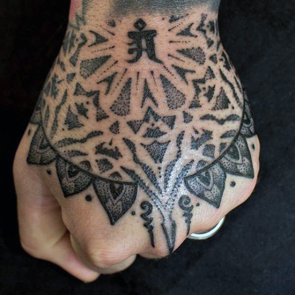 Awesome Hand Tattoo