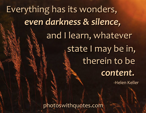 Awesome Helen Keller Quotations