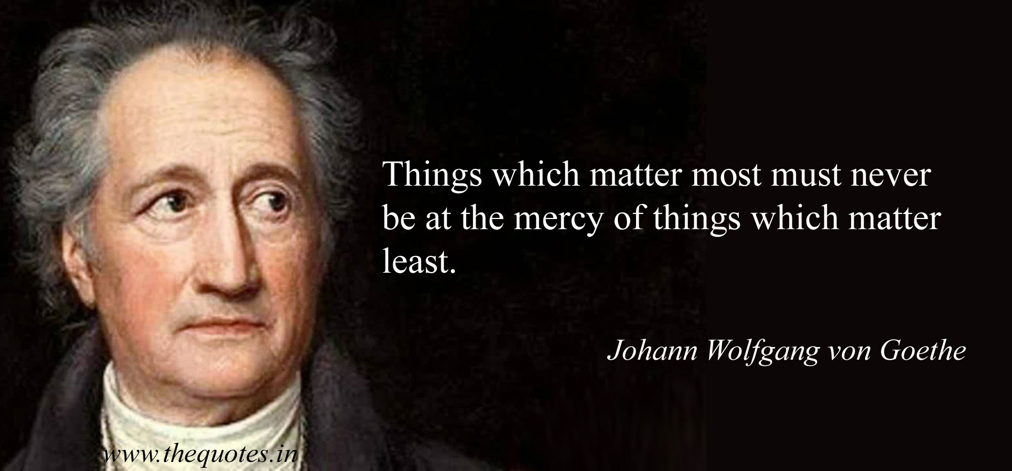 Awesome Johann Wolfgang Von Goethe Quotes