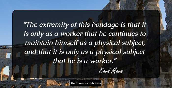 Awesome Karl Marx Quotations