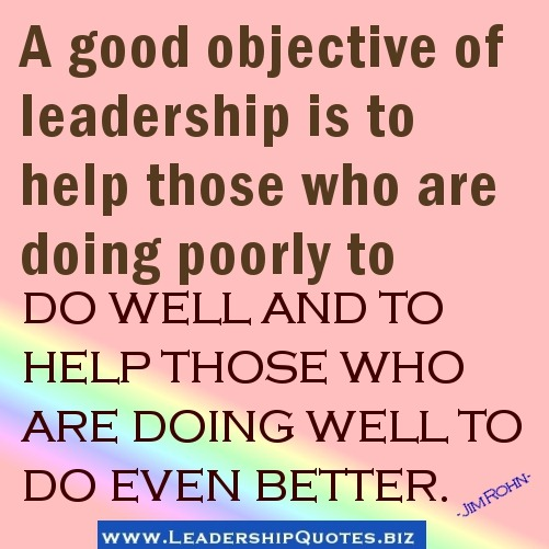 Awesome Leadership Sayings