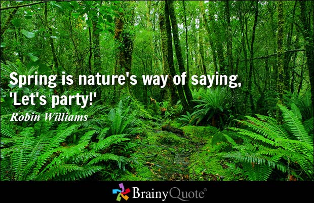 Awesome Nature Sayings