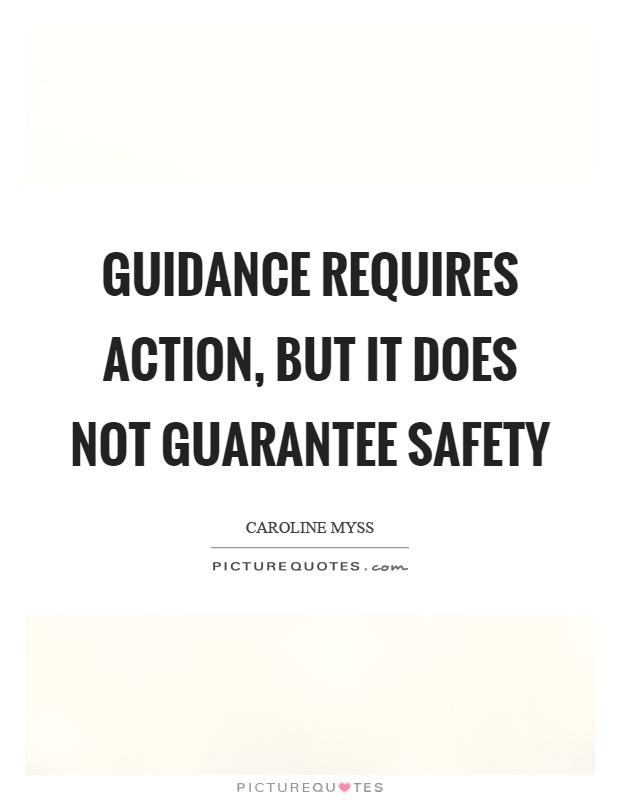 Awesome Safety Quotations