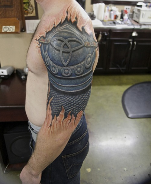Awesome Shoulder Tattoo Designs