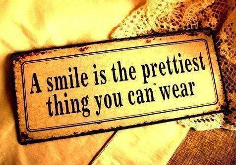 Awesome Smile Quotations