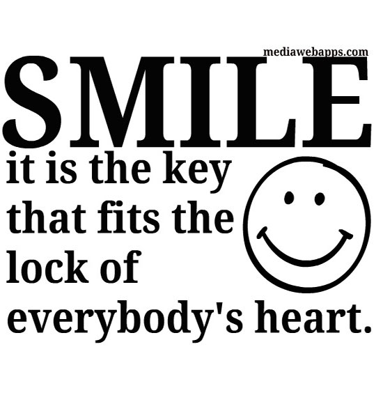 Awesome Smile Sayings