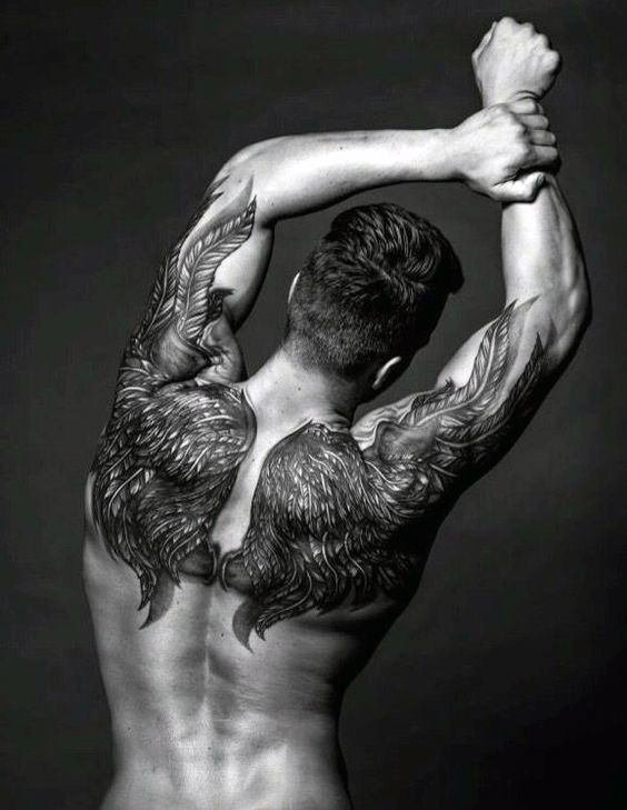 Awesome Upper Back Tattoo Designs