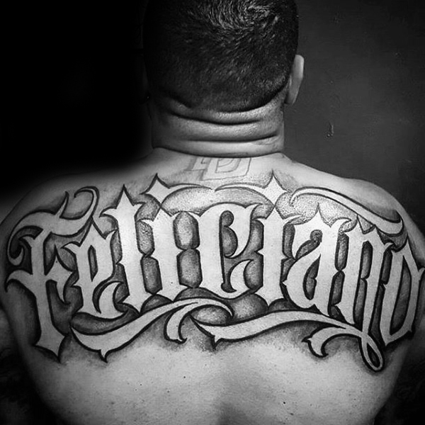 Awesome Upper Back Tattoos