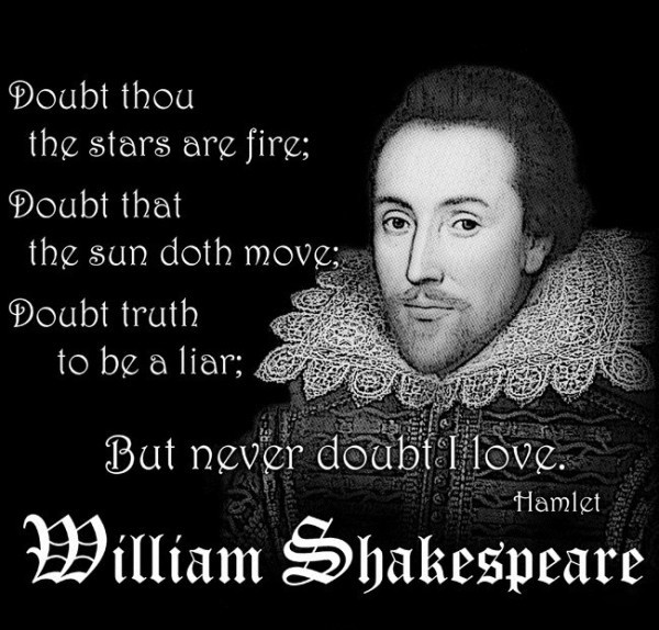 Awesome William Shakespeare Sayings