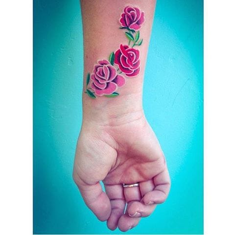 Awesome Wrist Tattoos Designs