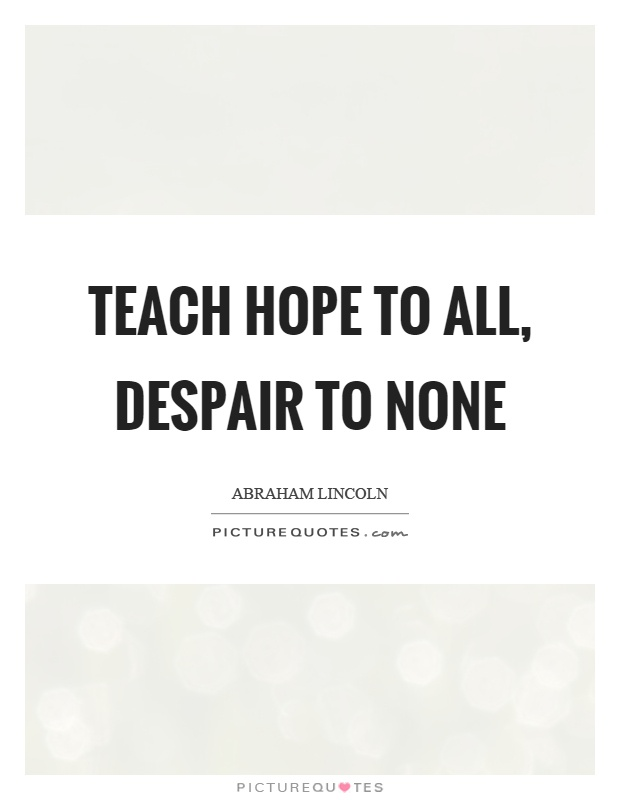 Beautiful Abraham Lincoln Quotations