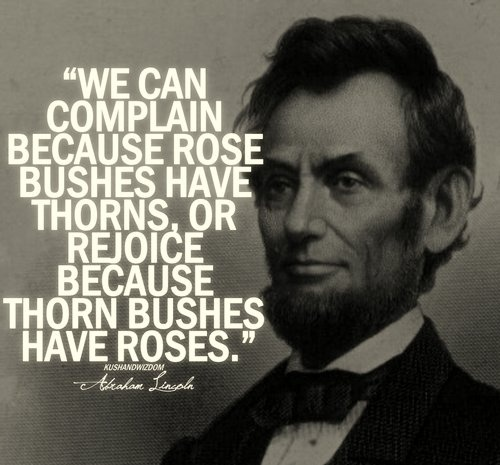 Beautiful Abraham Lincoln Quotes