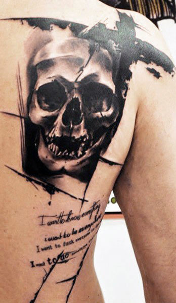 Beautiful Abstract Tattoos Designs
