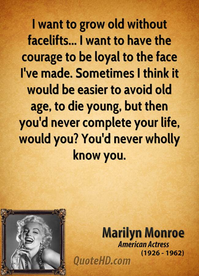 Beautiful Age Quotes