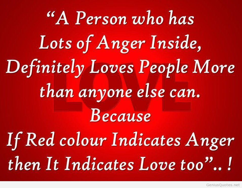 Beautiful Anger Quotes