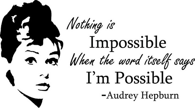 Beautiful Audrey Hepburn Quotations