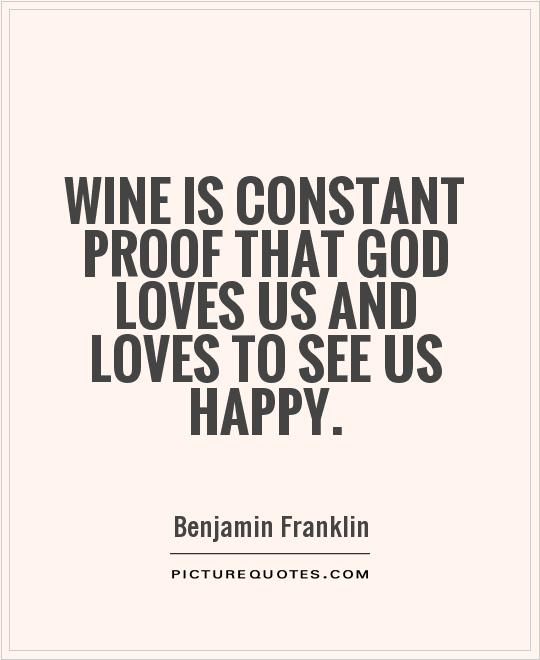 Beautiful Benjamin Franklin Quotation
