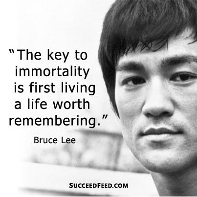 Beautiful Bruce Lee Quotation and Sayings