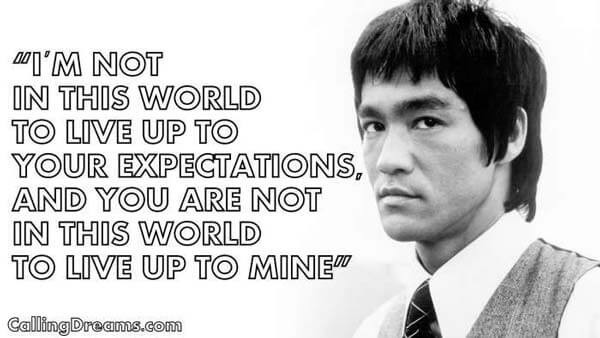 Beautiful Bruce Lee Quotations and Sayings