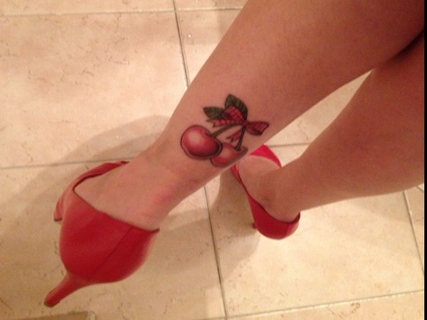 Beautiful Cherry Tattoos Designs