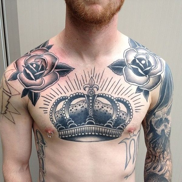 Beautiful Chest Tattoo Designs