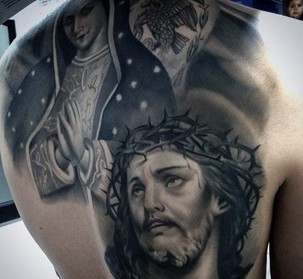 Beautiful Christian Tattoo Design