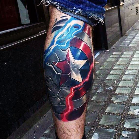Beautiful Comic Tattoos Designs