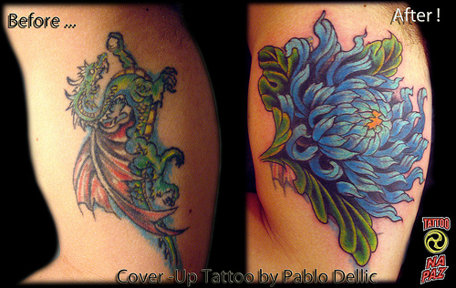 Beautiful Cover Up Tattoos