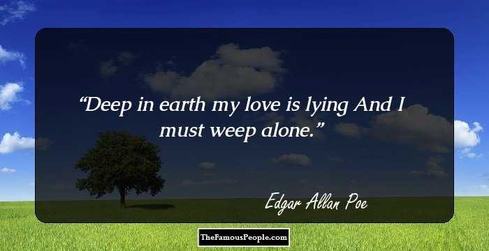 Beautiful Edgar Allan Quotation and Sayings