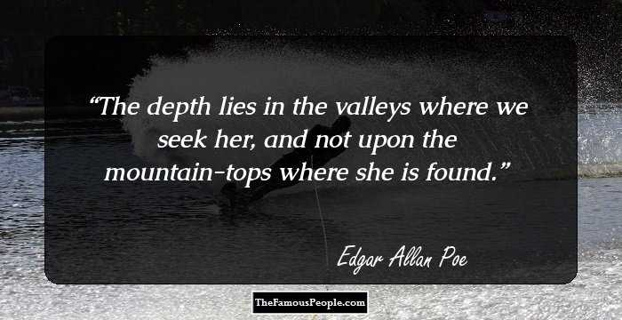 Beautiful Edgar Allan Quotations
