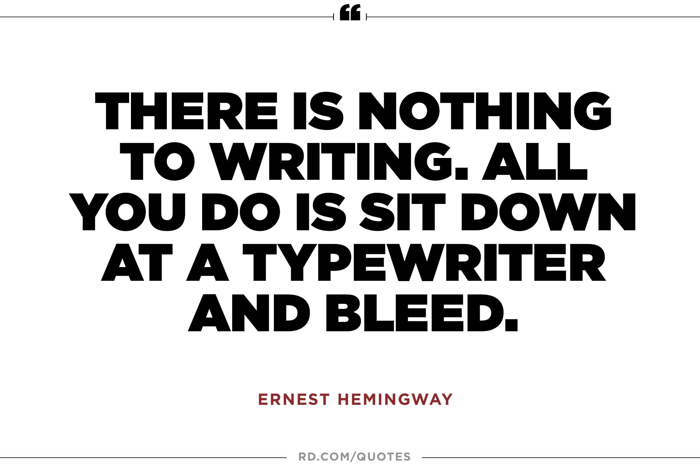 Beautiful Ernest Hemingway Quotes