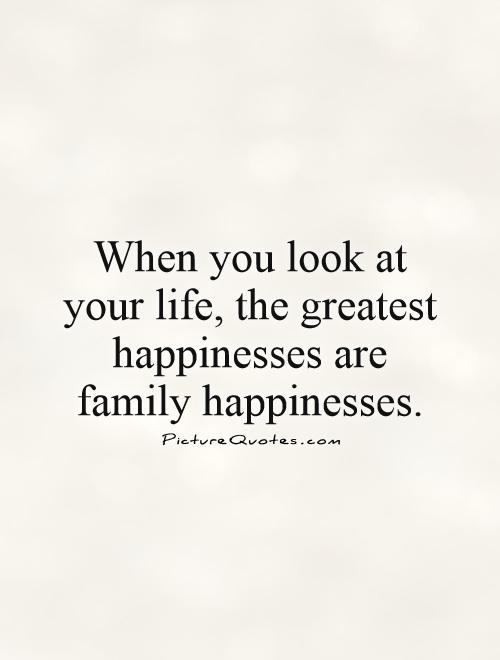 Beautiful Family Quotations and Sayings