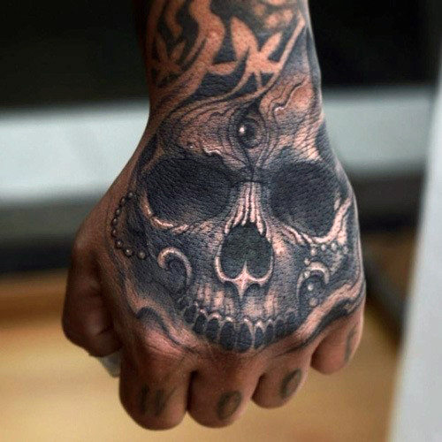 Beautiful Hand Tattoo Designs