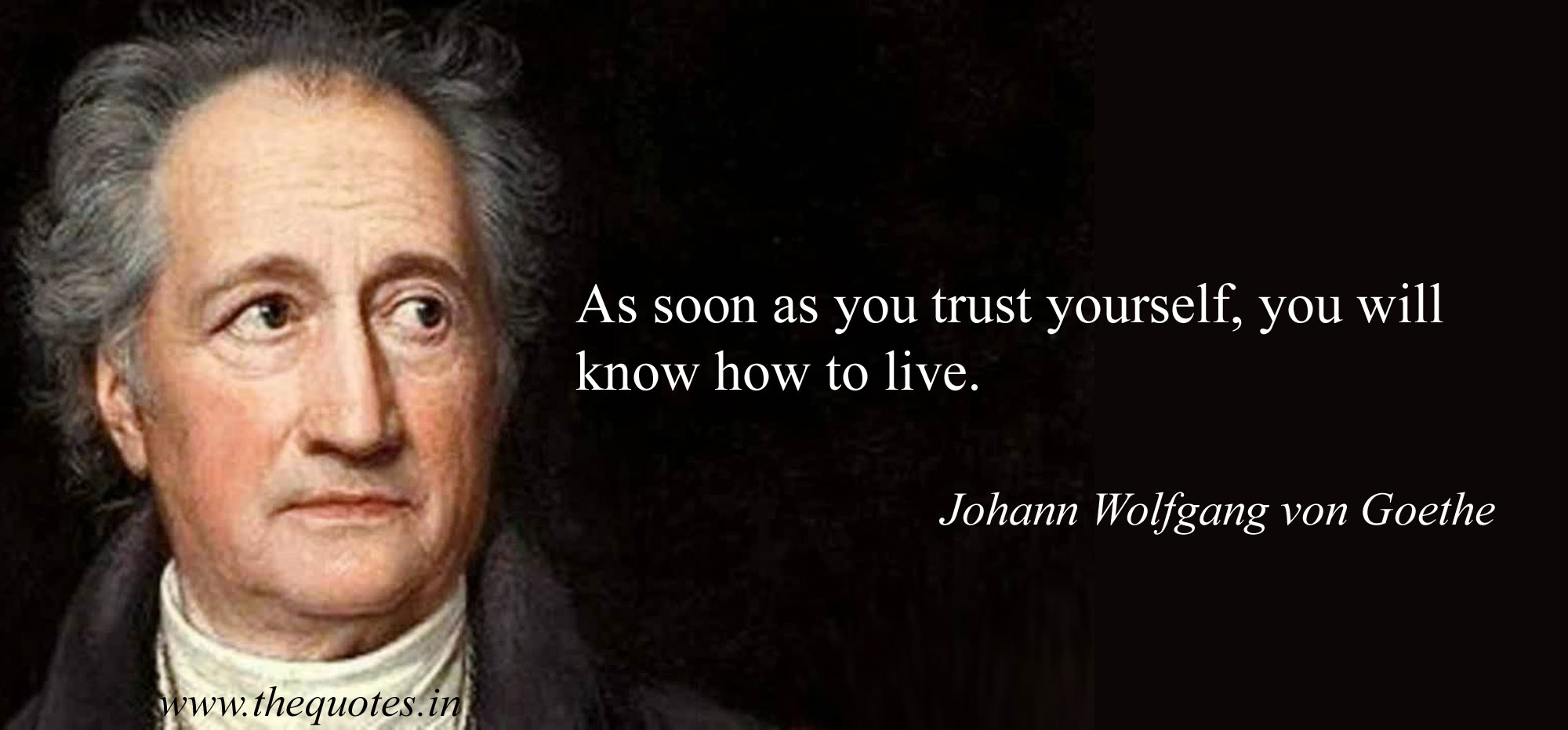 Beautiful Johann Wolfgang Von Goethe Quotes
