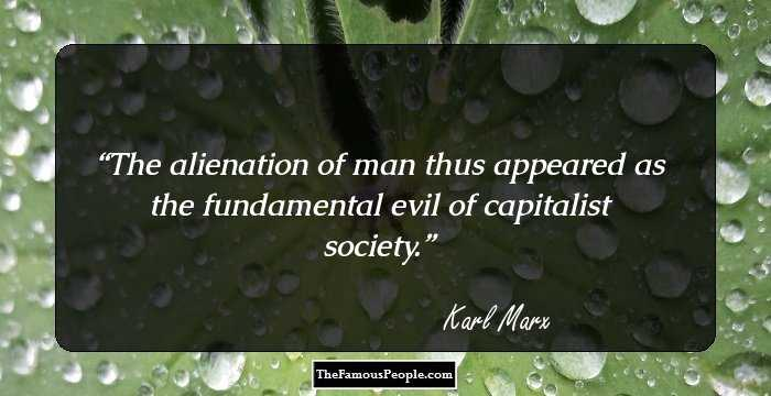 Beautiful Karl Marx Quotation