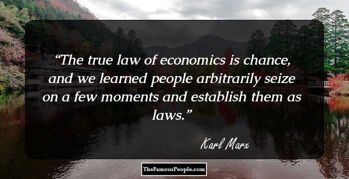 Beautiful Karl Marx Quotations