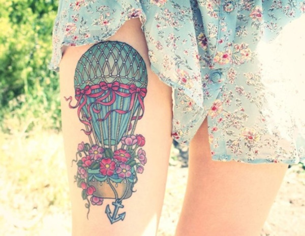 Beautiful Leg Tattoo Designs