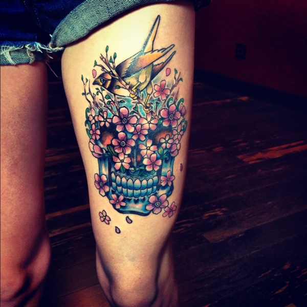 Beautiful Leg Tattoo