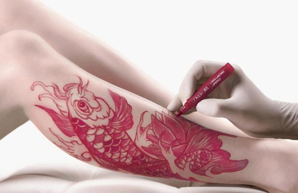 Beautiful Leg Tattoos Designs