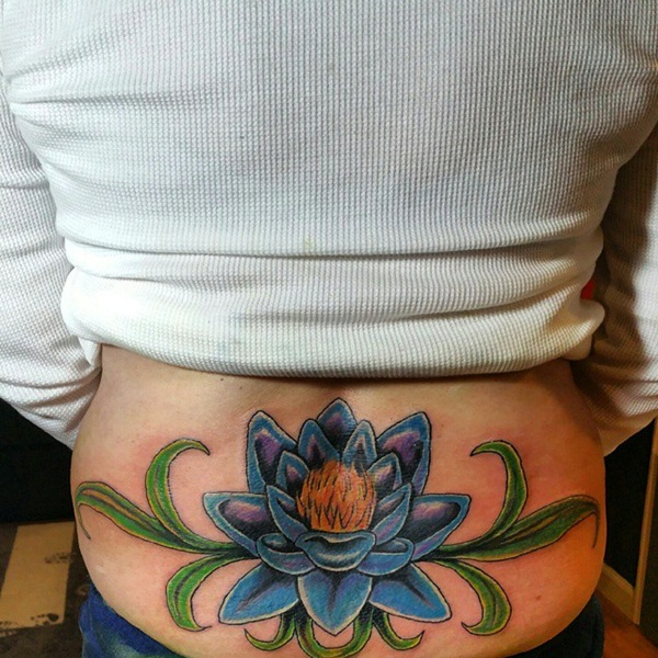 Beautiful Lower Back Tattoo