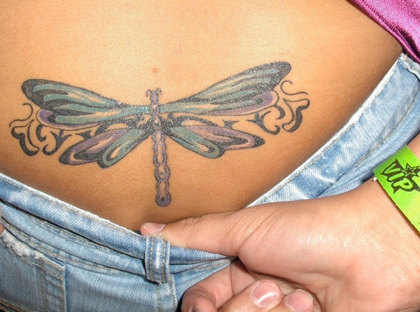 Beautiful Lower Back Tattoos