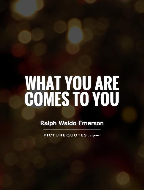 Beautiful Ralph Waldo Emerson Quotation