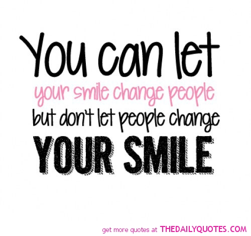 Beautiful Smile Sayings