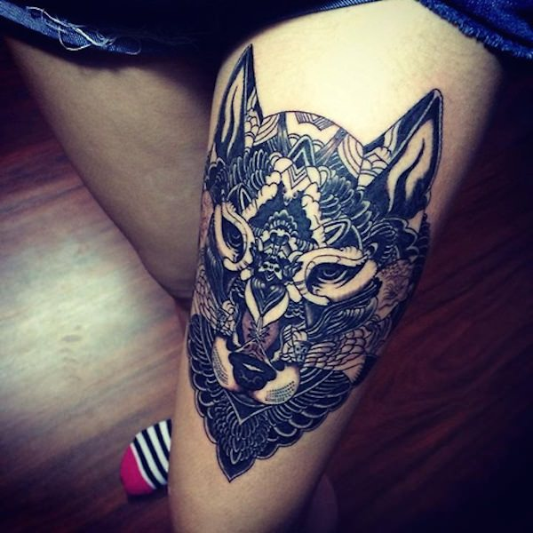 Beautiful Thigh Tattoo Designs