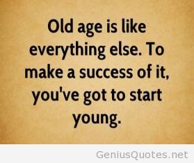 Best Age Quotations and Sayings