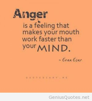 Best Anger Quotation