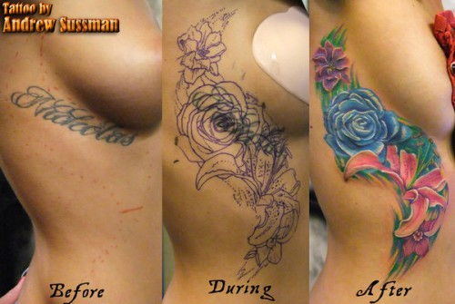 Best Cover Up Tattoos Design